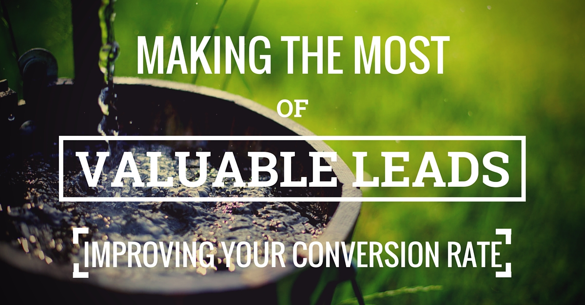 How not to waste valuable sales leads
